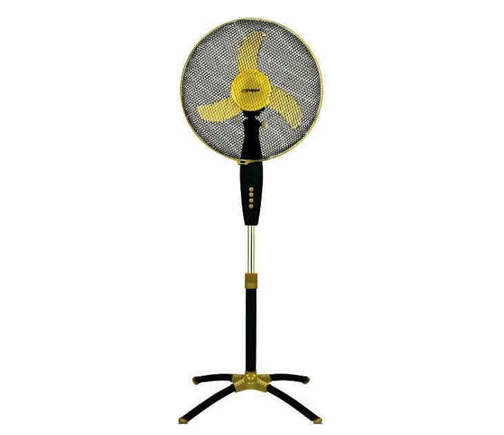 Ανεμιστήρας Δαπέδου Gruppe FS-40B-5 (40εκ) 3 Ταχύτητες (Κίτρινο) είδη θέρμανσης   ψύξης