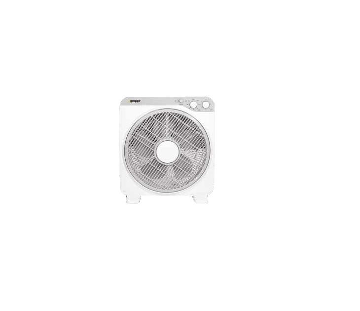 Ανεμιστήρας Box Fan Gruppe KYT-12DII (30εκ) 5 Πτερύγια (Λευκός) είδη θέρμανσης   ψύξης