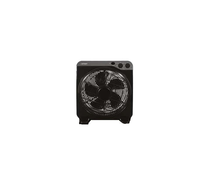 Ανεμιστήρας Box Fan Gruppe KYT-12DII (30εκ) 5 Πτερύγια (Μαύρος) είδη θέρμανσης   ψύξης