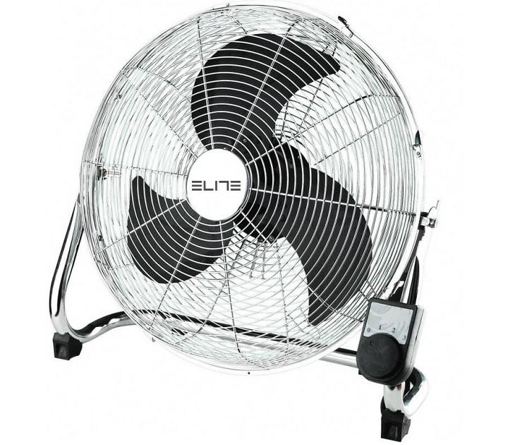 Ανεμιστήρας Δαπέδου Μεταλλικός 40εκ - 100W ELITE EFF-0444 είδη θέρμανσης   ψύξης
