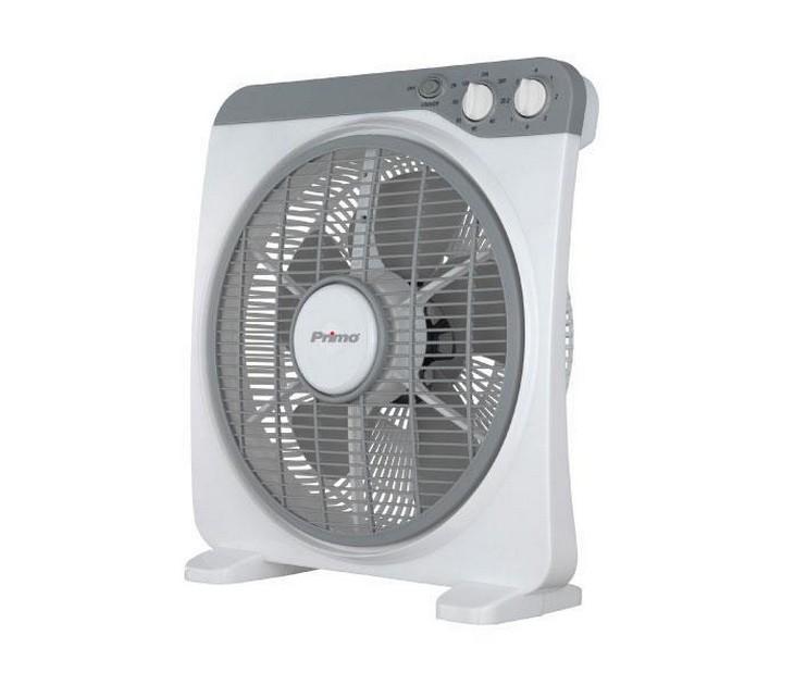 """Ανεμιστήρας Box Fan Primo KYT-12DII 12"""" (30εκ - Λευκός) είδη θέρμανσης   ψύξης"""
