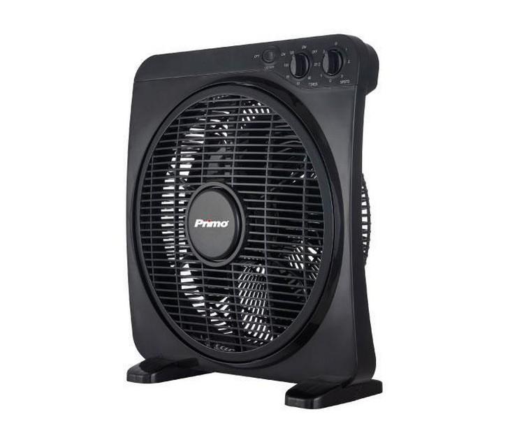 """Ανεμιστήρας Box Fan Primo KYT-12DII 12"""" (30εκ - Μαύρος) είδη θέρμανσης   ψύξης"""