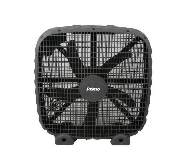 Τετράγωνος Ανεμιστήρας Box Fan Primo ΚΥΤ50-Α2 (40εκ - Μαύρος) είδη θέρμανσης   ψύξης