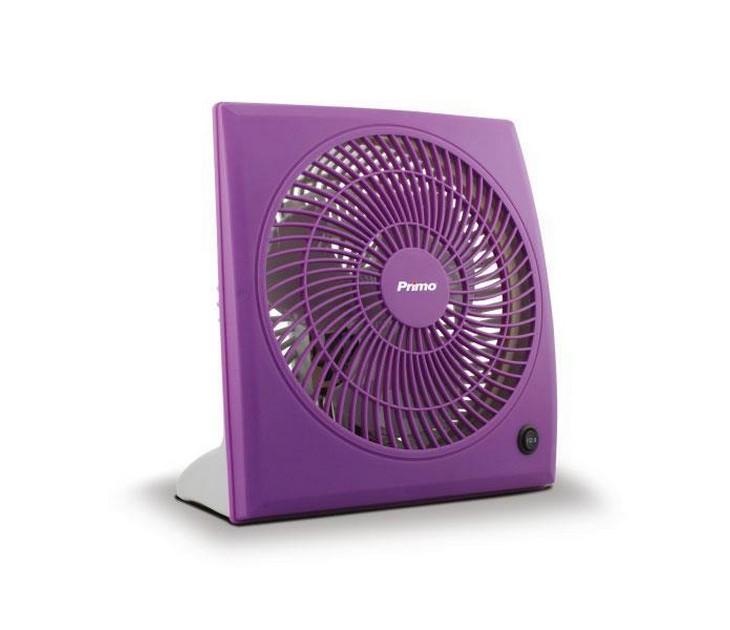 Ανεμιστήρας Box Fan Primo 15729 (23εκ - Μωβ) είδη θέρμανσης   ψύξης