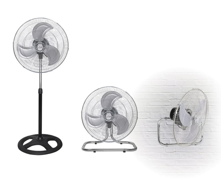 Ανεμιστήρας 3 σε 1 Ορθοστάτης-Δαπέδου-Τοίχου Life FS-300 (45εκ) είδη θέρμανσης   ψύξης