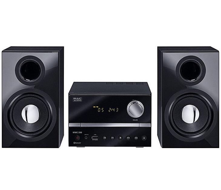 Mini Hi-Fi Ηχοσύστημα FM/CD/MP3/USB/Bluetooth Mac Audio MMC 200 ήχος   εικόνα