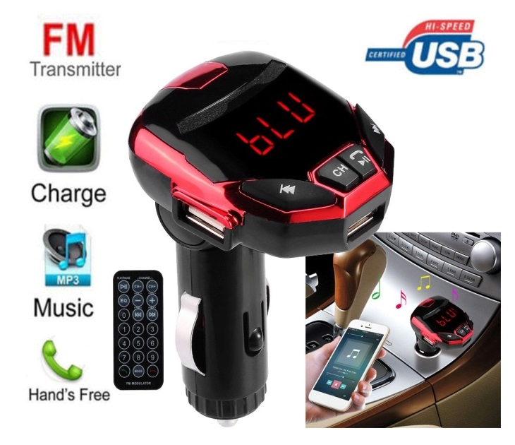Bluetooth SD/USB/Media Player/FM Transmitter & Φορτιστής car gadgets