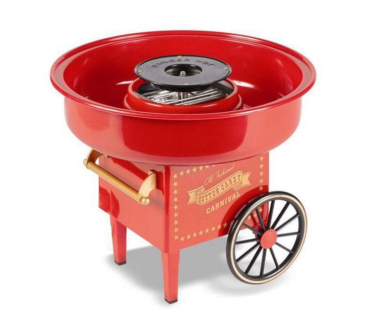 Μηχανή για Μαλλί της Γριάς Carnival (Κόκκινο) μηχανές για μαλλί της γριάς