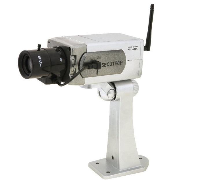 Ψεύτικη Κάμερα με Περιστροφή, Αισθητήρα Κίνησης & LED Λαμπάκι spy gadgets