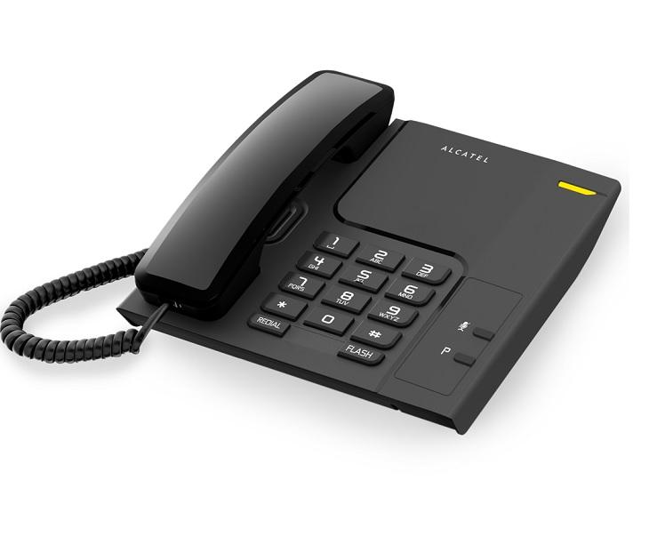Ενσύρματο Τηλέφωνο Alcatel T26 Μαύρο τηλεφωνία