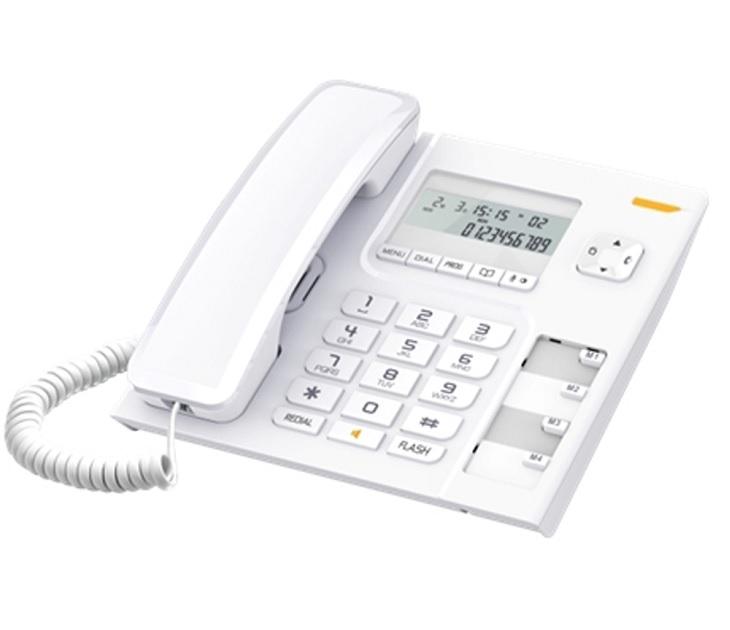 Ενσύρματο τηλέφωνο Alcatel Temporis 56 White τηλεφωνία