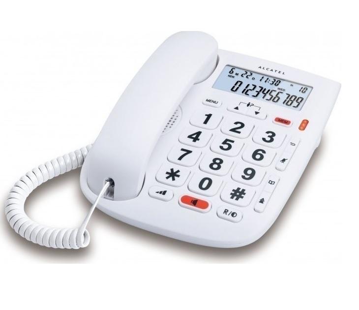 Ενσύρματο Τηλέφωνο Alcatel TMAX-1 Λευκό τηλεφωνία