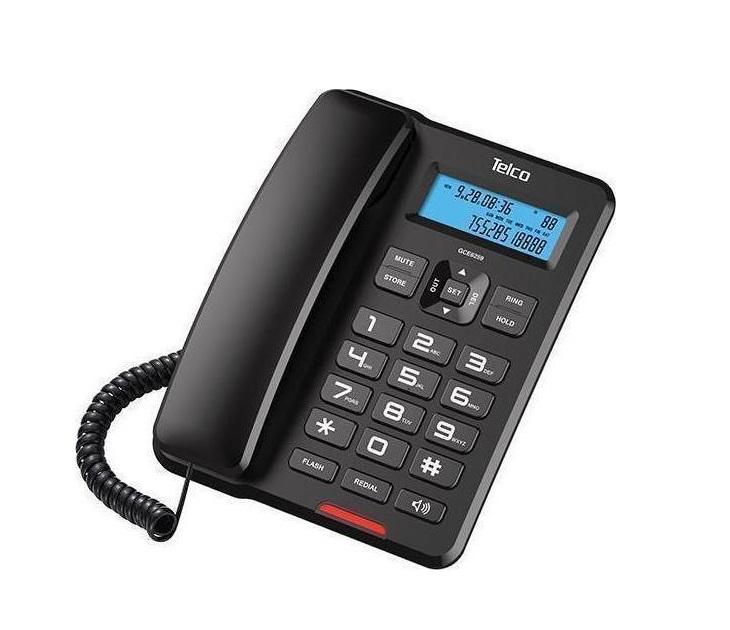 Ενσύρματο τηλέφωνο Telco GCE 6259 Μαύρο τηλεφωνία
