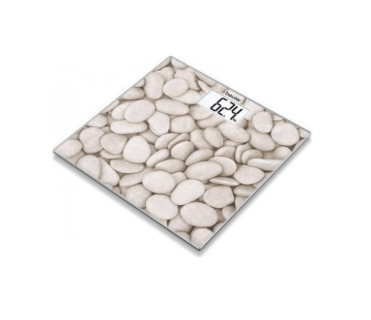 Γυάλινη Ψηφιακή Ζυγαριά Μπάνιου Beurer GS 203 Stone προσωπική περιποίηση