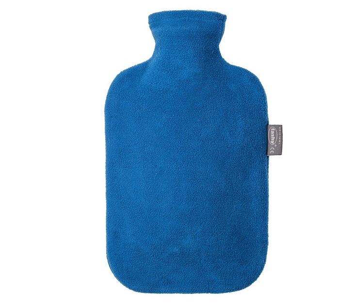 Θερμοφόρα με Fleece Cover 2L Μπλε / Κόκκινη Fashy θερμοφόρες