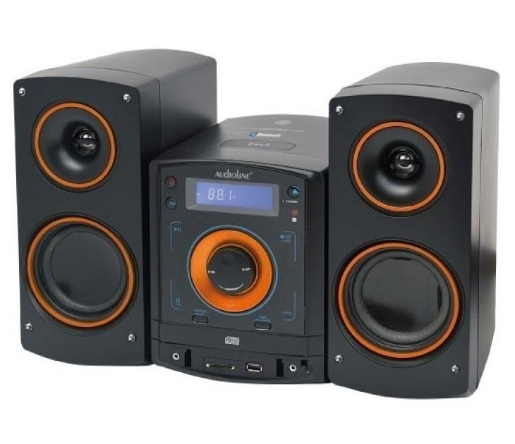 Ηχοσύστημα Audioline CD 50 Micro-Hifi CD/MP3/USB με Bluetooth ηχοσυστήματα hi fi