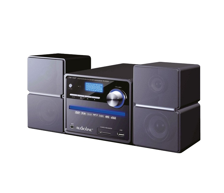 Ηχοσύστημα Audioline DM-102P Micro-Hifi DVD/CD/CD-R/CD-RW PLAYER ηχοσυστήματα hi fi