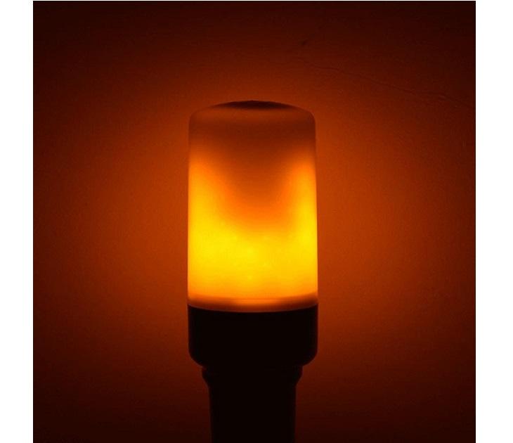 Διακοσμητική Λάμπα 9W Ε27 με Εφέ Φλόγας λάμπες led