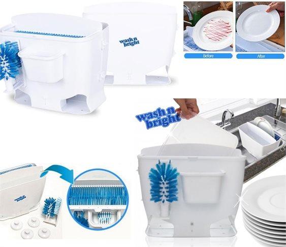 Συσκευη για Γρηγορο Πλυσιμο Πιατων Wash n Bright OEM