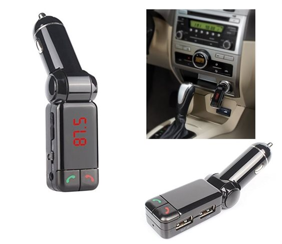 Bluetooth SD/USB MP3 Player+Charger Car FM Tr