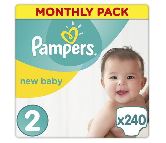 Πάνες Pampers New Baby Mini Monthly Pack Νο 2