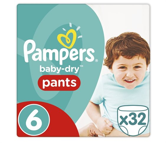 Πάνες Pampers Baby Dry Pants XL 32τμχ No