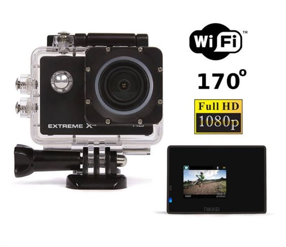 Wi-Fi Αδιάβροχη Action Camera Full HD NIKKEI