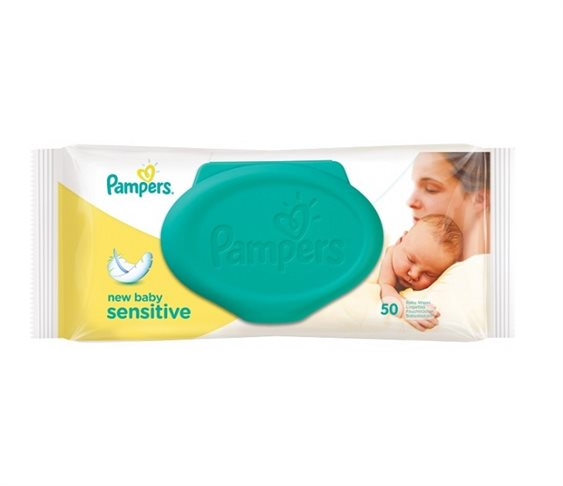 Pampers Μωρομάντηλα New Baby Sensitive Μ