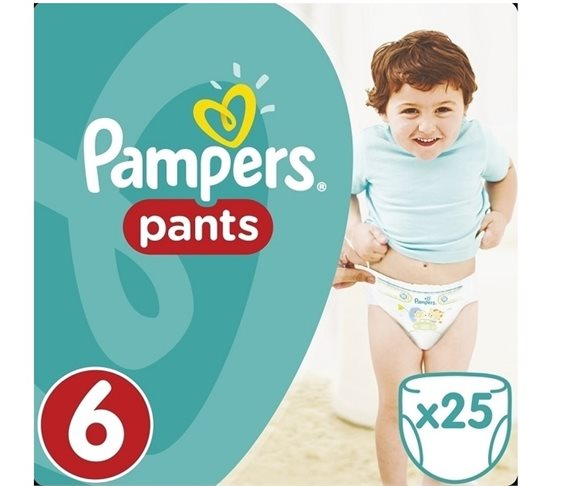 Πάνες Pampers Pants No 6 (16+kg) 25 τμχ