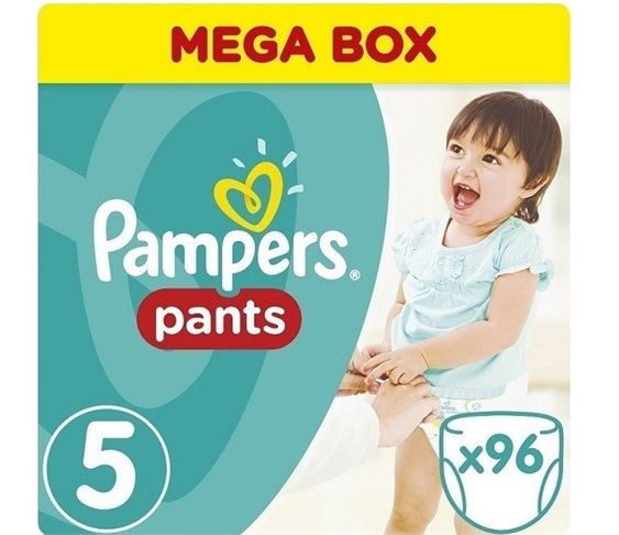 Πάνες Pampers Pants No 5 (12-18kg) 96 τμ