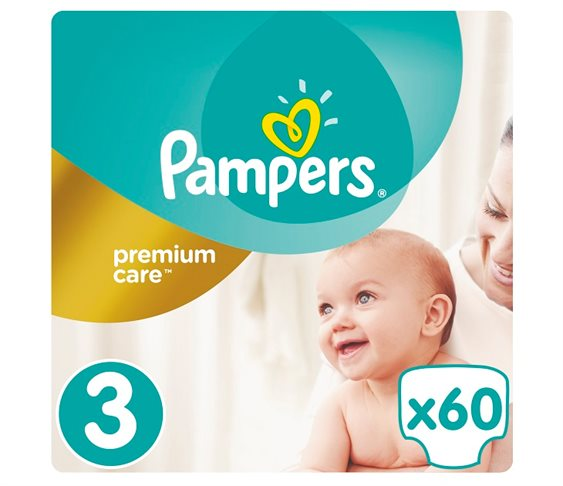 Πάνες Pampers Premium Care No3 (Midi) 5-