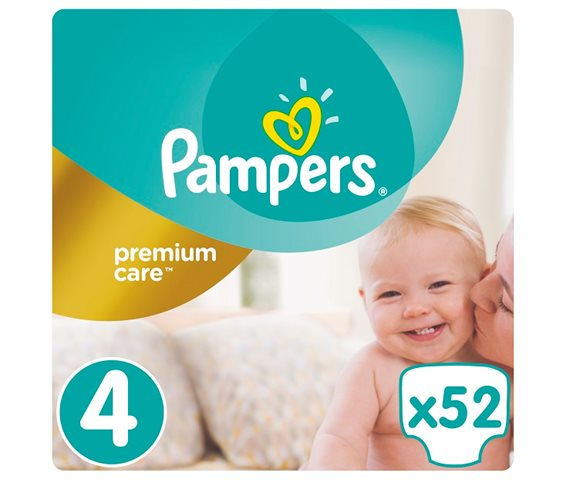 Πάνες Pampers Premium Care No4 (Maxi) 8-