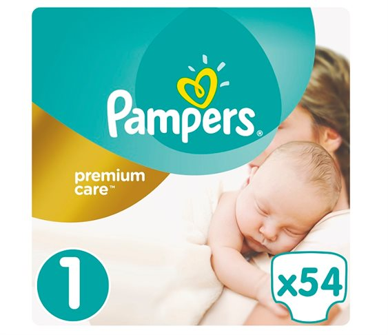 Πάνες Pampers Premium Care No1 (Newborn) 2-5