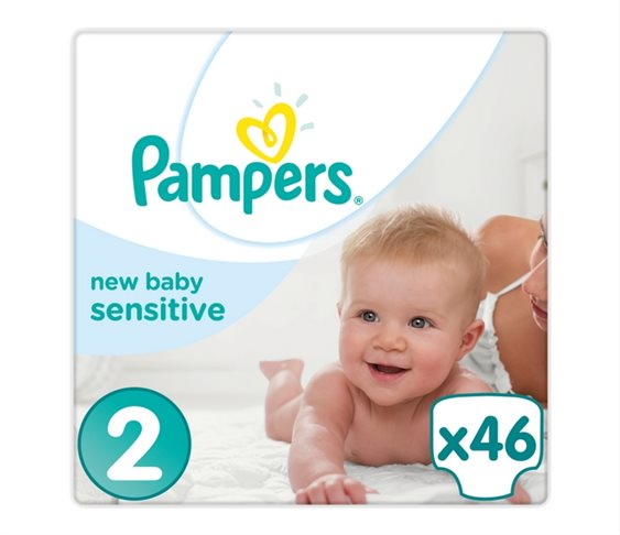 Πάνες Pampers  New Baby Sensitive No 2 (