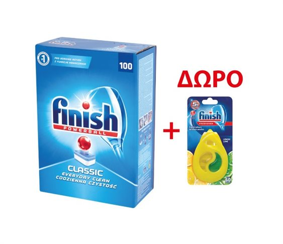 Finish Powerball Classic 100 Ταμπλέτες &