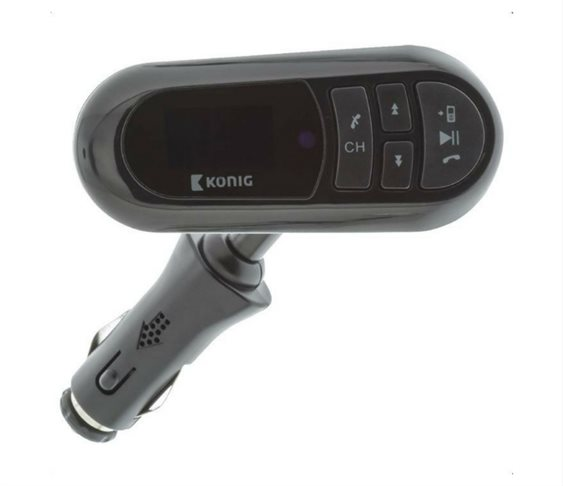Bluetooth Hands Free & FM Transmitter με Ενσω