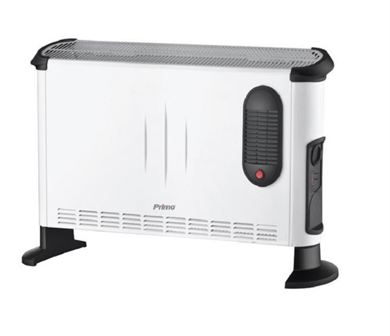 Convector Turbo DL05-24B 2400W, Λευκός,