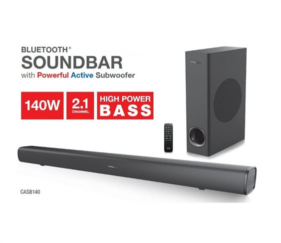 Bluetooth Soundbar 140Watt CASB140 Cryst