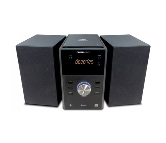 Μini Hi-Fi με Bluetooth/FM/CD Crystal Au