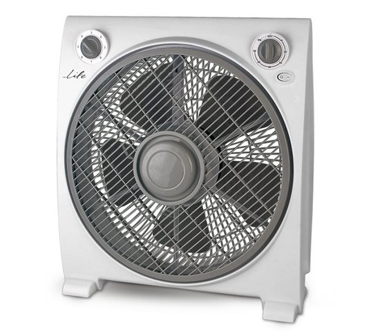 Ανεμιστήρας Box Fan 30cm 50W Life Vento