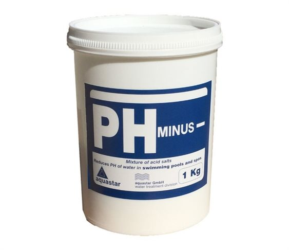 Ρυθμιστής pH Aquastar PH Minus(-) 1Kg