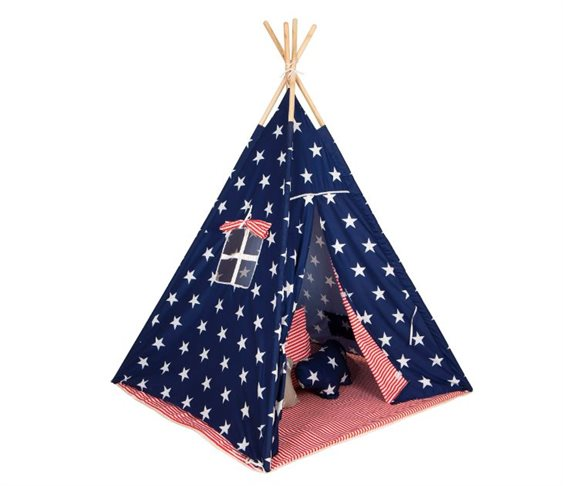 Σκηνή Baby Adventure Teepee Gray Star
