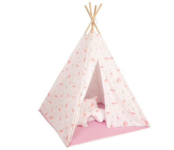 Σκηνή Baby Adventure Teepee Flamingo
