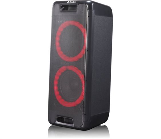 Φορητό Bluetooth Party Speaker με LED Ak