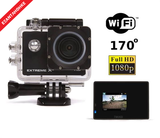 Wi-Fi Αδιάβροχη Action Camera Full HD NI