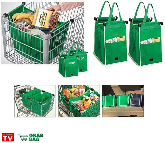 82b85a0380 Οικολογικές Τσάντες για Ψώνια Επαναλαμβανόμενης Χρήσης- Σετ