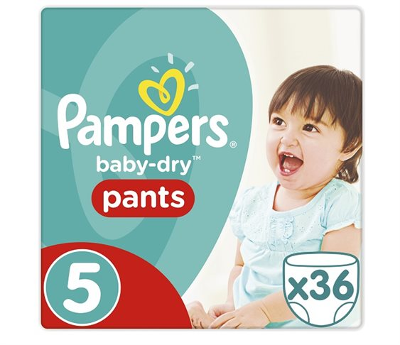 Πάνες Pampers Baby Dry Pants Junior No 5