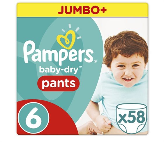 Πάνες Pampers Baby Dry Pants XL Jumbo Pa