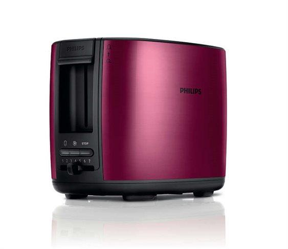 Φρυγανιέρα Philips HD2628 00 (Κόκκινη Μεταλλική) (950W) 9c892277372