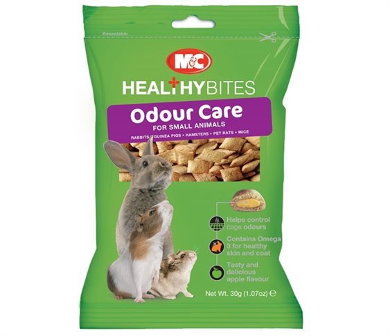 Λιχουδιά M&C Healthy Bites Odour Care γι